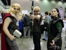 Thor, Hawkeye, & Loki