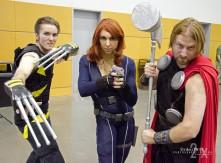 Wolverine, Black Widow, & Thor
