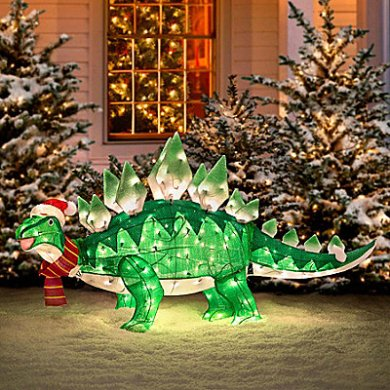 Light-up Stegosaurus